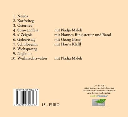 Die CD zum aktuellen Programm!