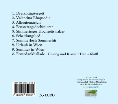 Die zweite CD zum aktuellen Programm!